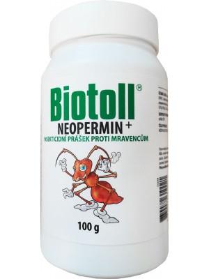 BIOTOLL neopermin proti mravcom v prášku 100 g