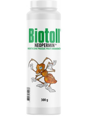 BIOTOLL neopermin proti mravcom v prášku 300 g