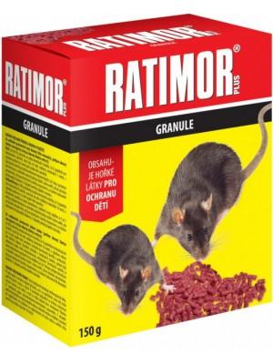 Ratimor granulovaná nástraha na myši a potkany 150 g