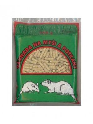 Granulovaná nástraha na myši a potkany 500 g